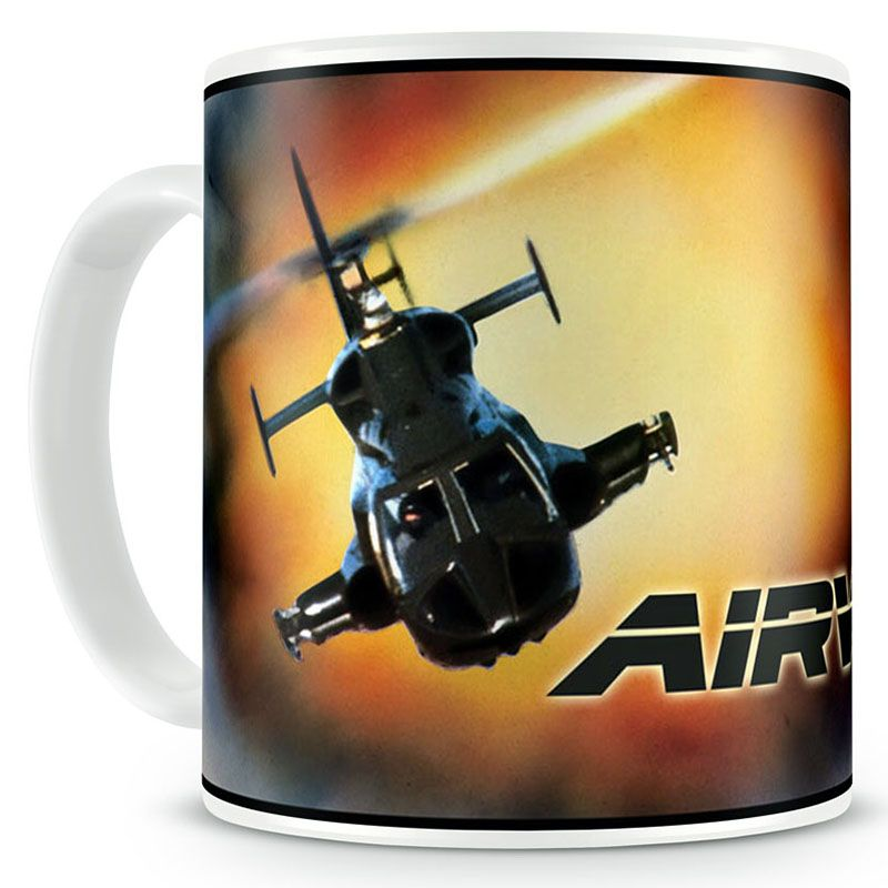 Airwolf hrnek s potiskem Explosion