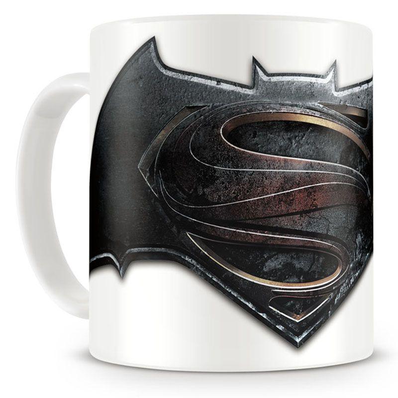 Batman V Superman hrnek s potiskem Logo