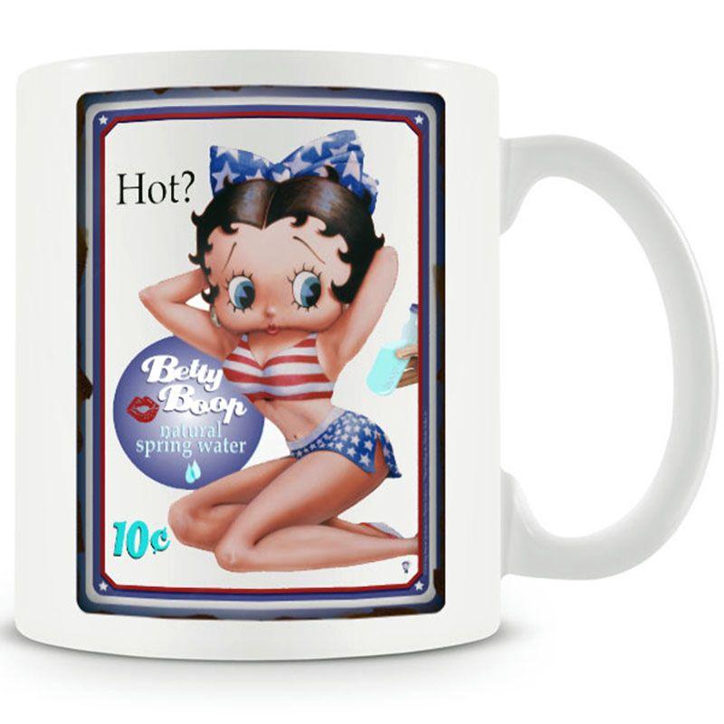 Betty Boop hrnek s potiskem HOT