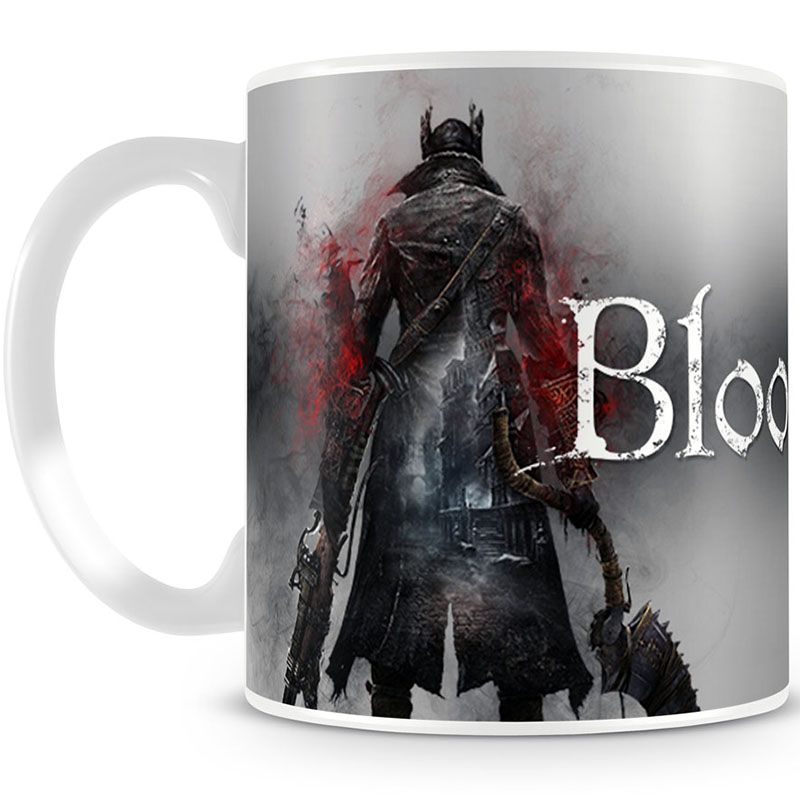 Bloodborne hrnek na kávu Logo