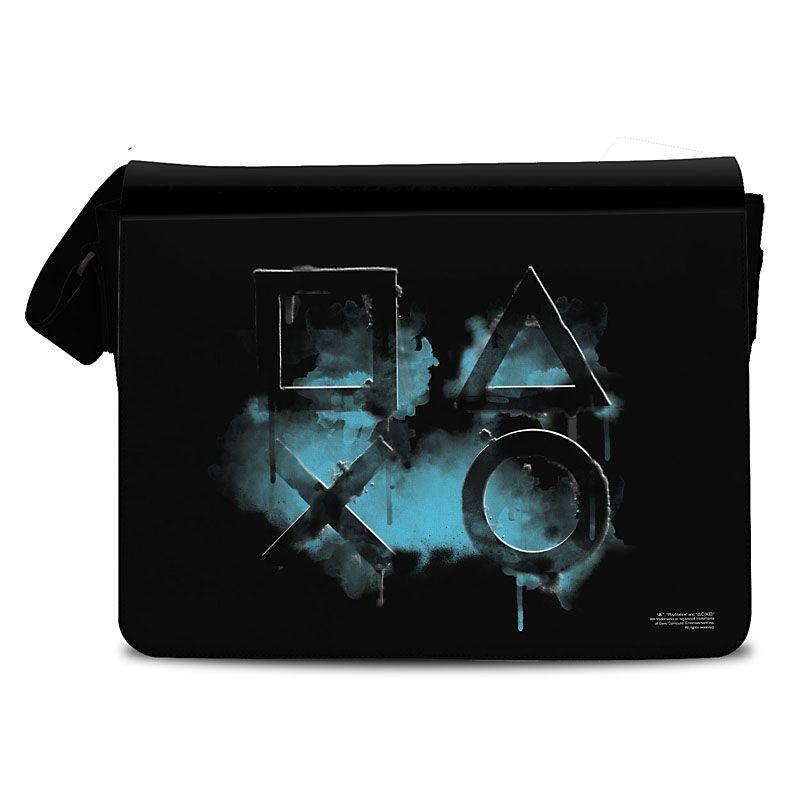 Brašna Playstation taška přes rameno Smoked Icons