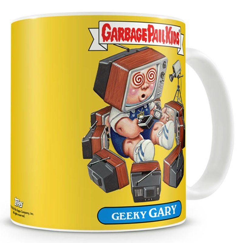Garbage Pail Kids hrnek s potiskem Geeky Gary Licenced
