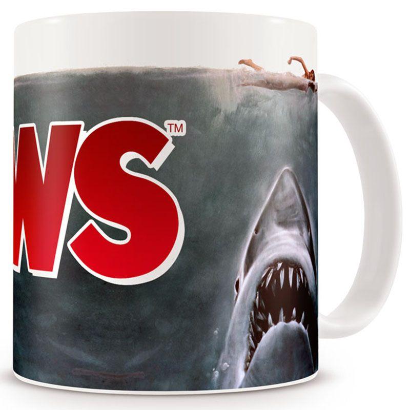 Jaws hrnek s potiskem Original Čelisti
