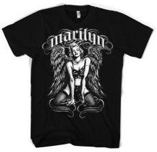 Pánské tričko Marilyn Monroe Cool Angel