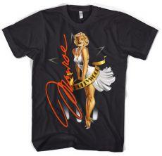 Pánské tričko Marilyn Monroe In Hollywood