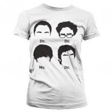 Teorie velkého třesku dámské tričko Prefix Heads