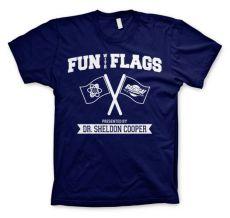 Tričko Teorie velkého třesku Fun With Flags