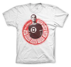 Tričko Teorie velkého třesku Sheldon Circle