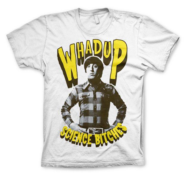 Pánské tričko The Big Bang Theory Whadup Science Bitches