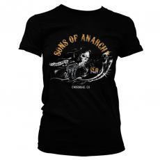 Dámské tričko Zákon Gangu Charming