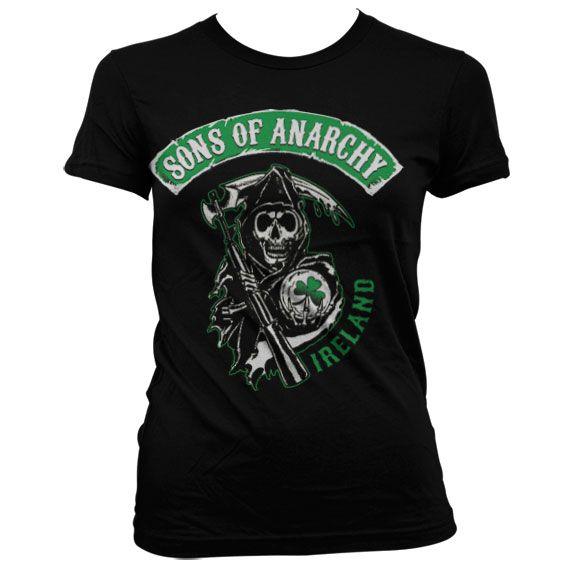 Sons of Anarchy dámské triko s potiskem Ireland