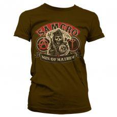 Dámské tričko Zákon Gangu SAMCRO Men Of Mayhem