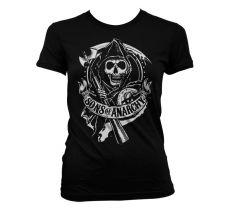 Dámské tričko Zákon Gangu Scroll Reaper