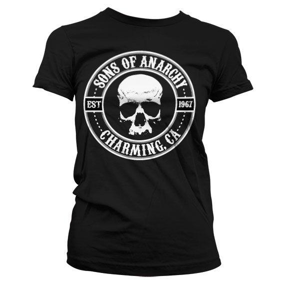 Sons of Anarchy módní dámské tričko Seal
