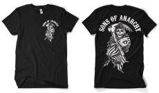 Pánské tričko Zákon Gangu American Reaper