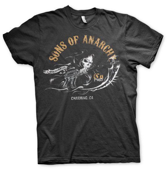 Sons of Anarchy pánské triko s potiskem Charming