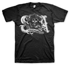 Zákon Gangu pánské tričko Charming Reaper