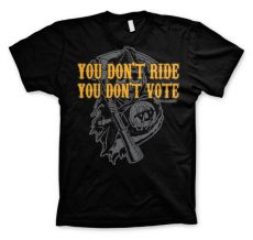 Pánské tričko Zákon Gangu Don´t Ride Don´t Vote