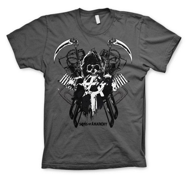 Sons of Anarchy pánské triko s potiskem Engine Reaper
