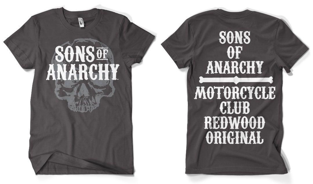 Sons of Anarchy pánské triko s potiskem Motorcycle Club