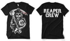 Pánské tričko Zákon Gangu Reaper Crew