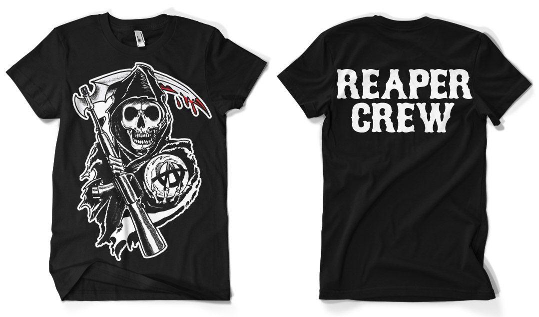 Sons of Anarchy pánské triko s potiskem Reaper Crew