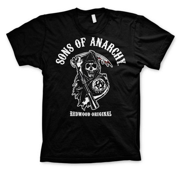 Sons of Anarchy pánské triko s potiskem Redwood Original