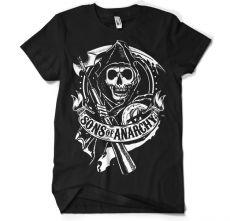 Pánské tričko Zákon Gangu Scroll Reaper