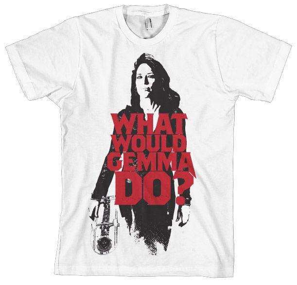 Sons of Anarchy pánské triko s potiskem What Would Gemma Do?