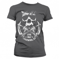 Zákon Gangu dámské tričko 1967 Skull