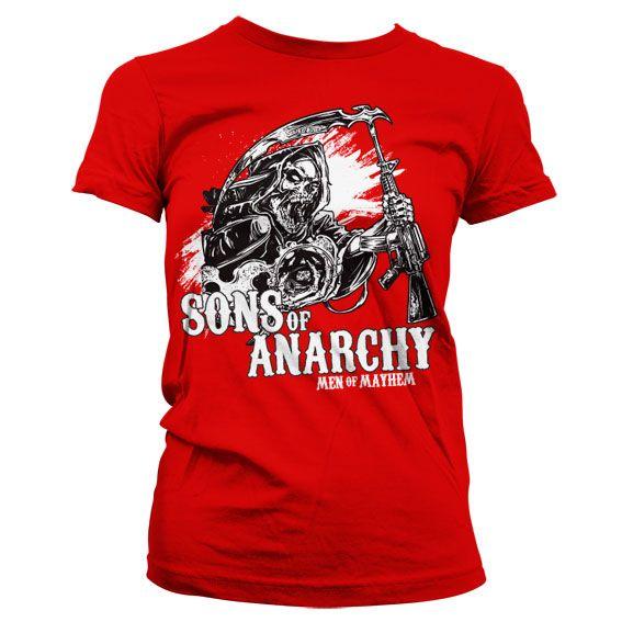 Sons of Anarchy stylové dámské tričko AK Reaper