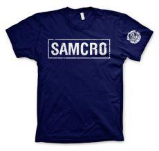 Zákon Gangu pánské tričko SAMCRO Distressed