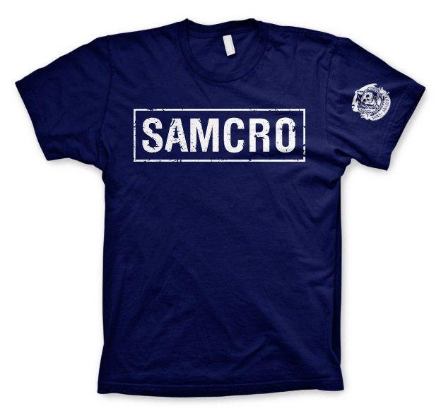 Sons of Anarchy stylové pánské tričko SAMCRO Distressed