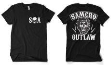 Zákon Gangu pánské tričko Samcro Outlaw