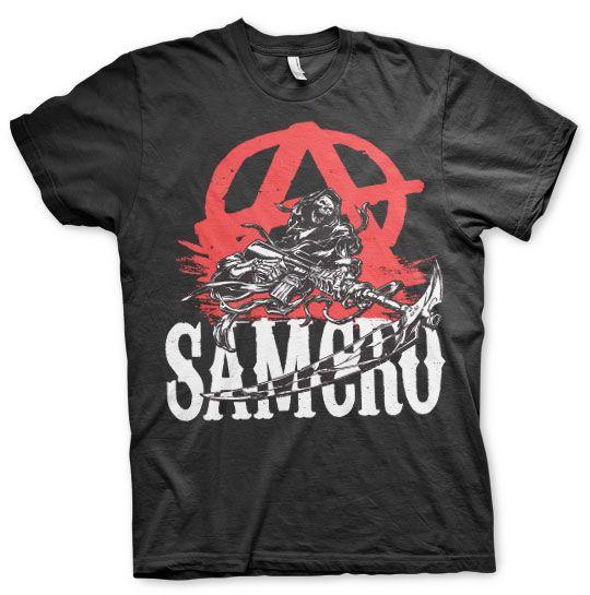 Sons of Anarchy stylové tričko s potiskem Anarchy Reaper