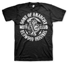 Zákon Gangu pánské tričko Moto Club