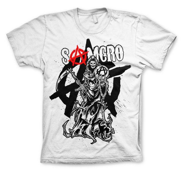 Sons of Anarchy stylové tričko s potiskem Reaper Splash