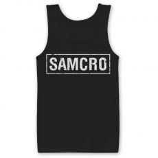 Tílko Zákon Gangu SAMCRO Distressed