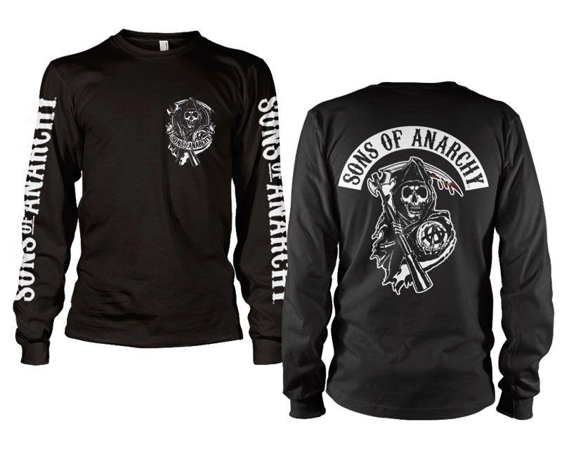 Sons of Anarchy triko s dlouhým rukávem Backpatch