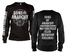 Zákon Gangu tričko s dlouhým rukávem Motorcycle Club Long