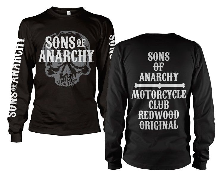 Sons of Anarchy triko s dlouhým rukávem Motorcycle Club Long