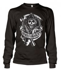 Zákon Gangu triko s dlouhým rukávem Reaper