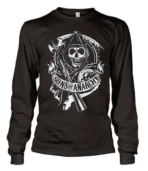Sons of Anarchy triko s dlouhým rukávem Reaper