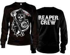 Zákon Gangu tričko s dlouhým rukávem Reaper Crew