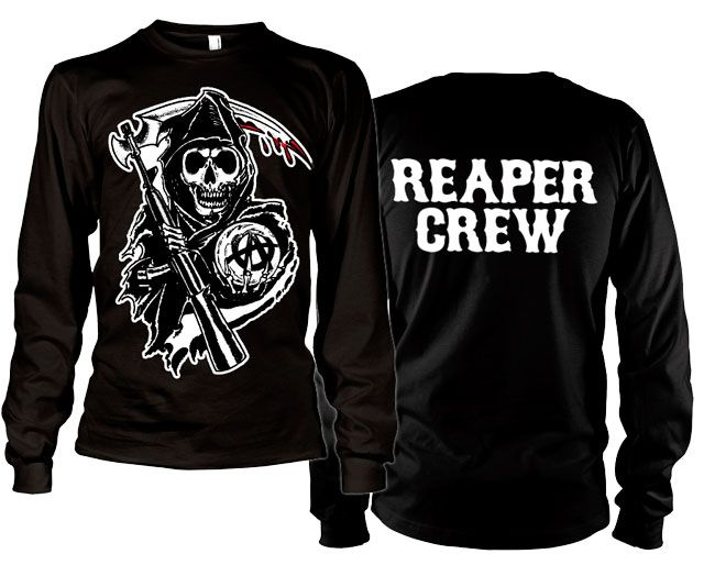 Sons of Anarchy triko s dlouhým rukávem Reaper Crew