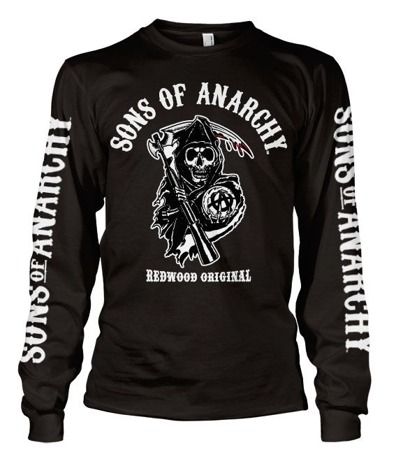 Sons of Anarchy triko s dlouhým rukávem Redwood Original