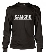 Zákon Gangu triko s dlouhým rukávem SAMCRO Distressed