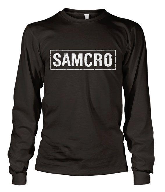 Sons of Anarchy triko s dlouhým rukávem SAMCRO Distressed