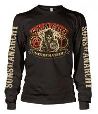 Zákon Gangu triko s dlouhým rukávem SAMCRO Men Of Mayhem
