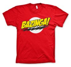 Teorie velkého třesku pánské tričko Bazinga Super Logo
